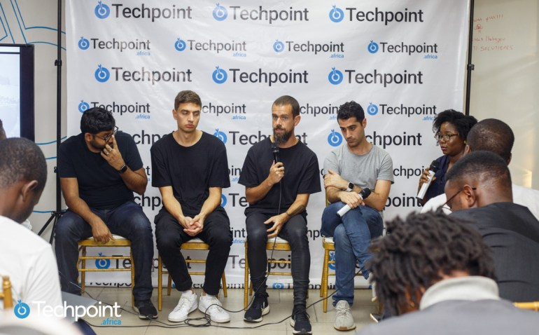Twitter co-founder, Jack Dorsey, in Nigeria